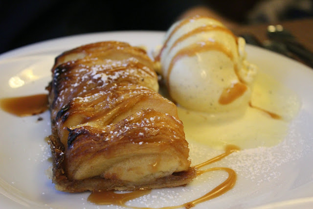 Apple tart at Café Constant, Paris