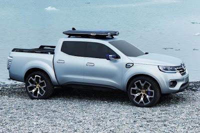 Renault Alaskan Concept (2015) Front Side