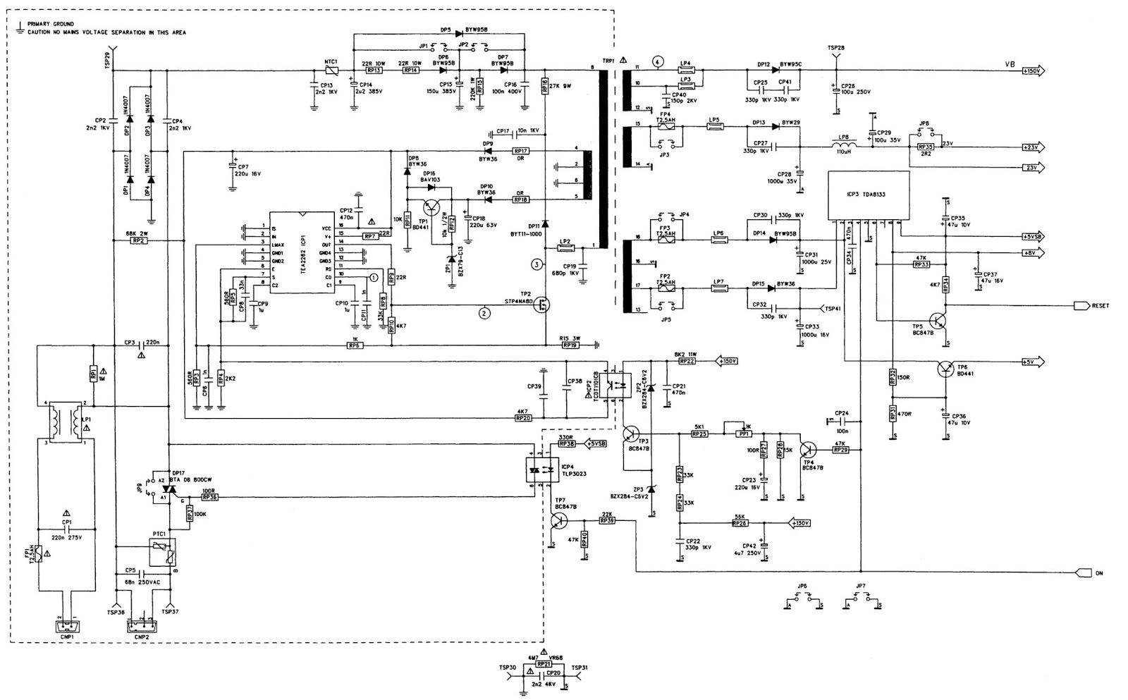 tatung connector diagram wiring diagramtatung connector diagram best wiring librarytatung t25n440 t32w440 service adjustments main power [smps man network