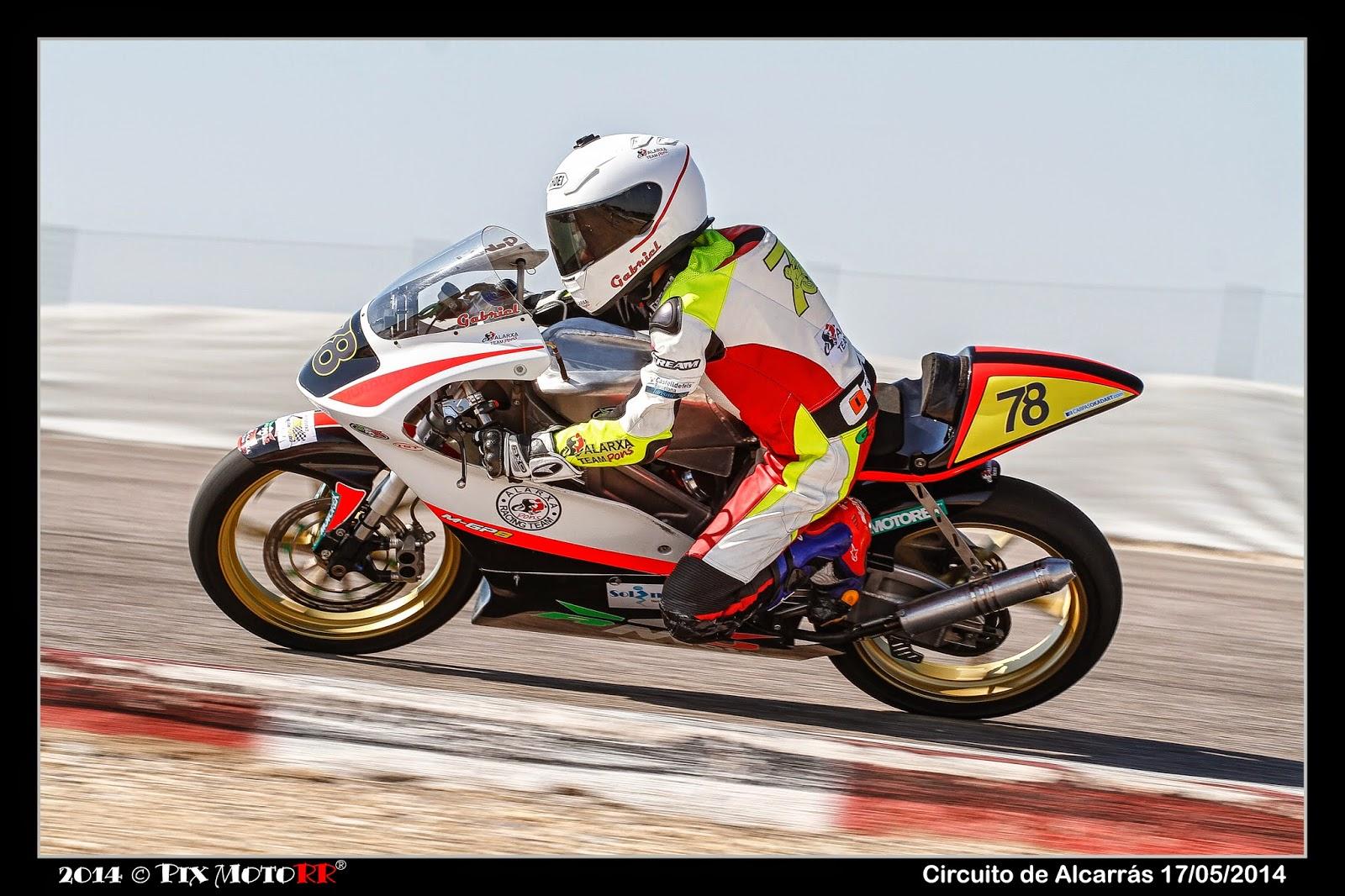Circuito De Alcarras : Piloto de motociclismo gabriel gonzález ontiveros test rmu