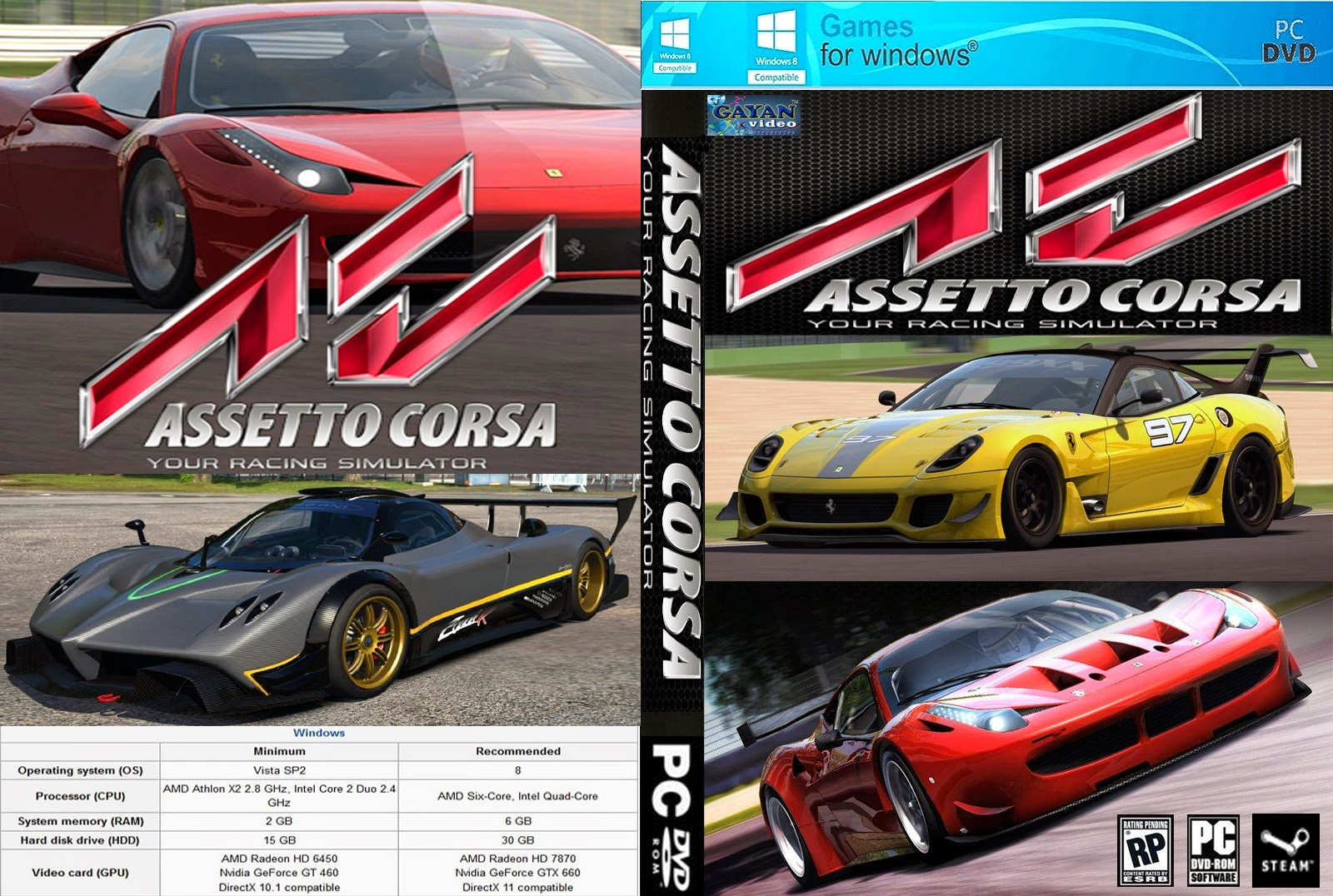 tudo de jogos assetto corsa pc. Black Bedroom Furniture Sets. Home Design Ideas