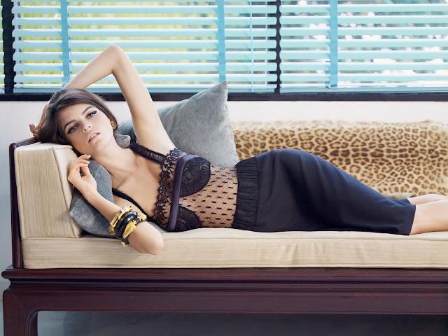 la perla body lingerie sexy dentelle noire
