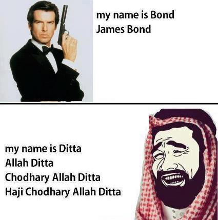 May 2013 best multi language media - My name is bond james bond ...