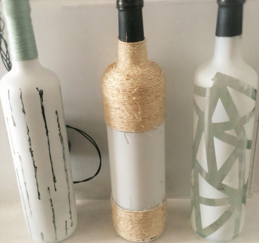 Decorar botellas - Como pintar botellas de plastico ...