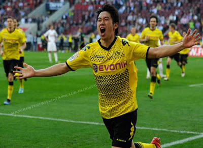 Kagawa Borussia Dortmund 2012, Shinji Kagawa close to Manchester United