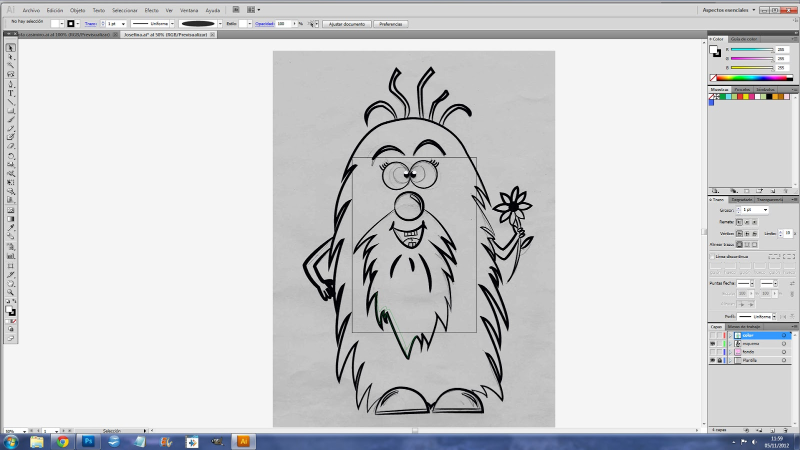 Blog de Josefina: Programa Illustrator CS5