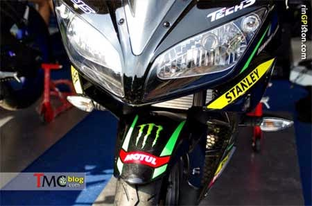 headlamp Yamaha R15 Monster Tech 3