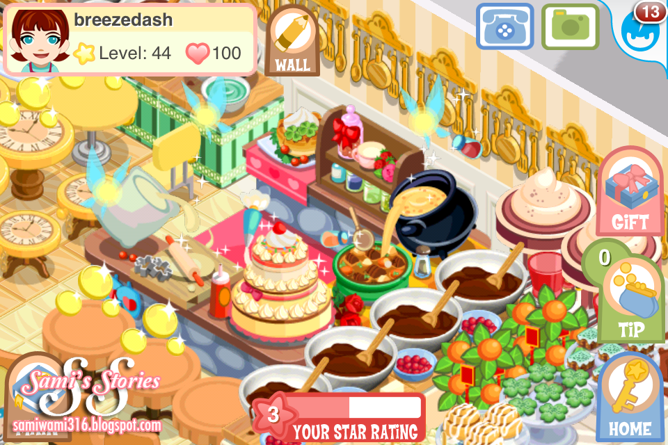 Sami 39 s stories new decor spotted for Bakery story decoration ideas