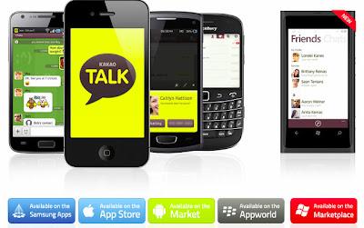Download Aplikasi Chatting KakaoTalk, KakaoTalk Gratis, Download KakaoTalk Untuk Semua Type HP, KakaoTalk Java, Java .Jar, KakaoTalk Nokia x2