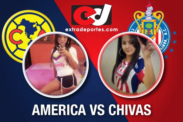 Chivas vs América 0-4 EL COLOR Jornada 13 Clausura 2014