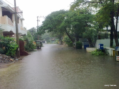 Raining in Chennai