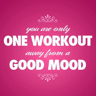 you are only one workout away from a good mood