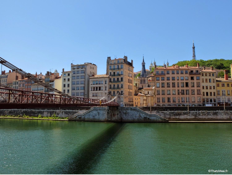 Lyon quais la Saone fleuve, visiter Lyon ThatsMee.fr cercle de l'aviron