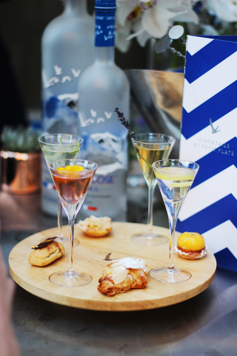GREY GOOSE Boulangerie François Terrasse launch at Harvey Nichols London
