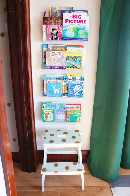 IKEA hacks Bekvan step stool library ladder