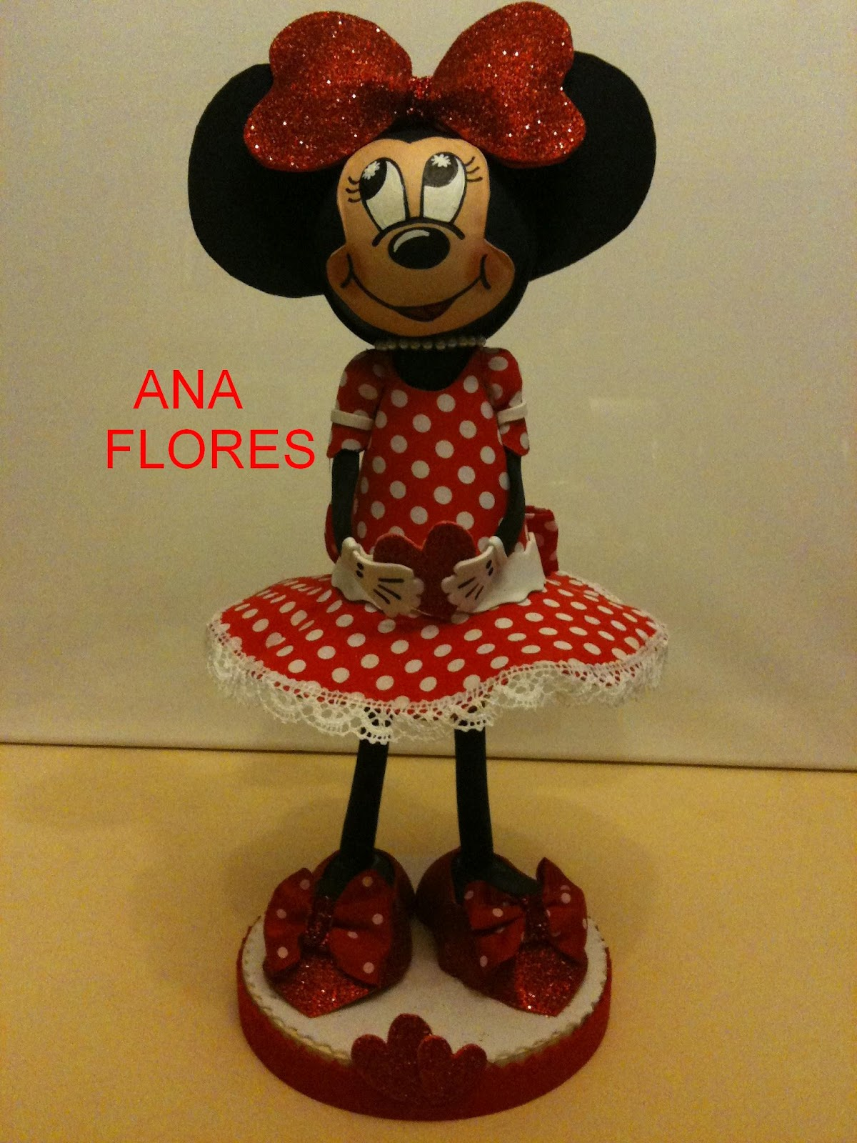 Pin Minnie Fofucha Y Portalapiz Zapato on Pinterest