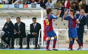 debut messi barcelona