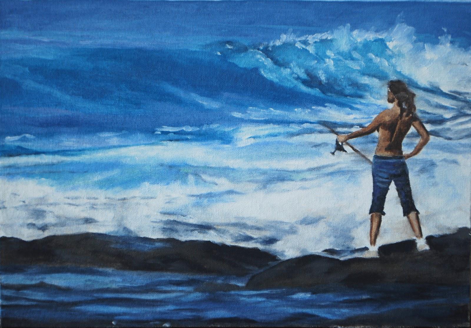 Omaž ribolovcu i ribolovu - Page 3 Surf+fishing++++++++++++++16x12