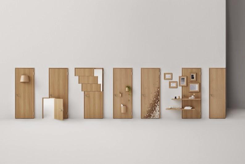 Nendo diseña 7 puertas que incluyen diseños para los usuarios de sillas de ruedas y niños