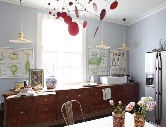 Dise os de cocinas originales - Colore muri cucina ...