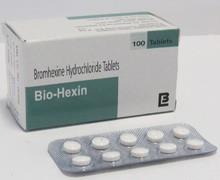 Obat generik tablet atau larutan Bromhexine HCL pereda batuk berdahak dan gejala radang tenggorokan