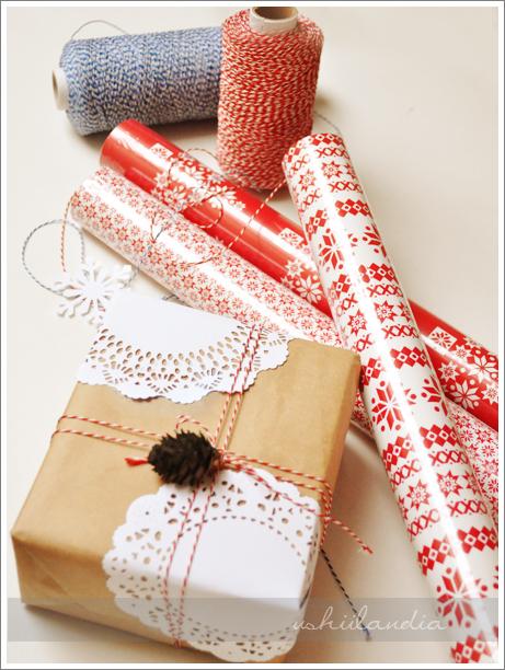 boże narodzenie - pakowanie prezentów