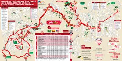 Mapa Bustour (oficial)