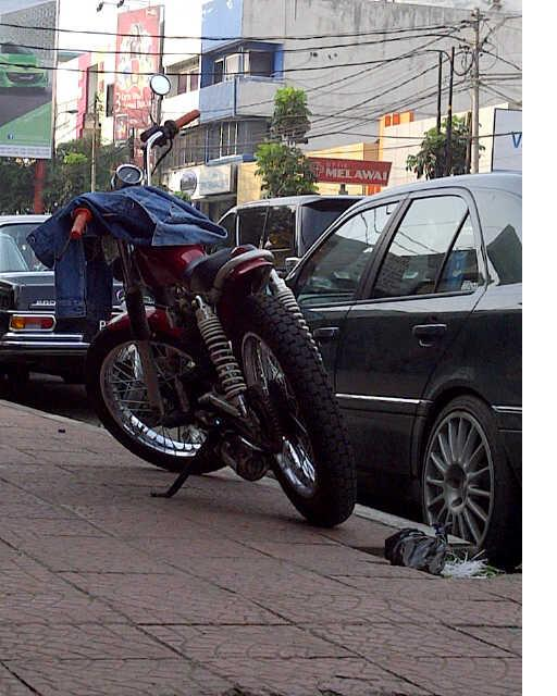 Honda CB 125 Modif Japs Style  For Sale Bandung title=