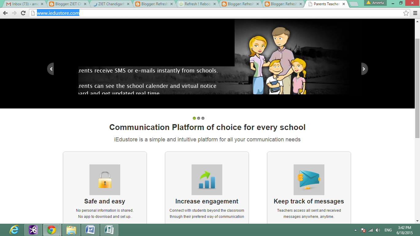Communication Platform of choice for every school