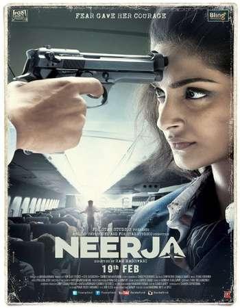 Poster Of Neerja 2016 Hindi 720p   Watch Online Free Download Worldfree4u