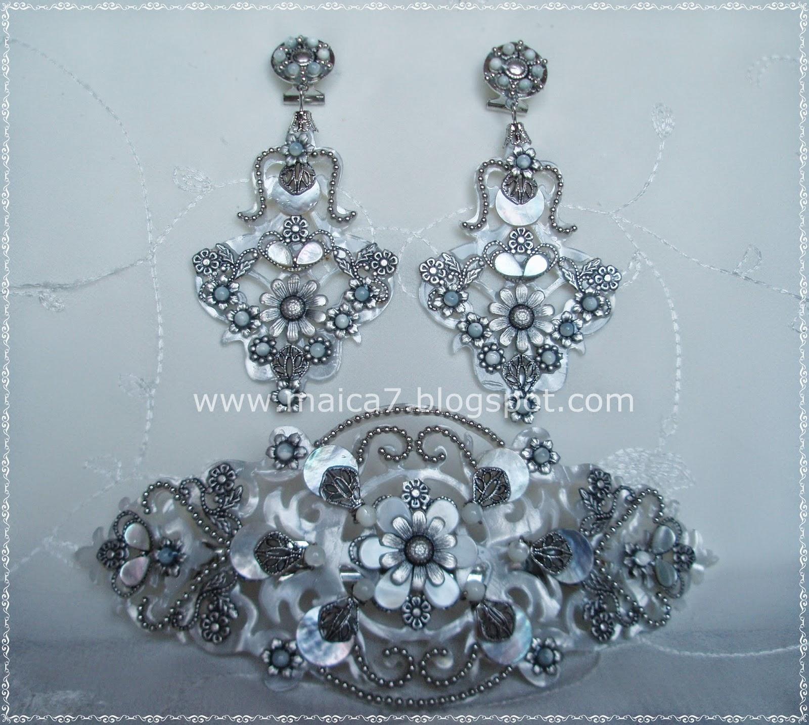 BROCHE MEGARA | Complementos para novias: pendientes y tocados ...