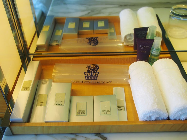 ritz carlton singapore toiletries