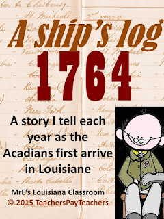 https://www.teacherspayteachers.com/Product/LOUISIANE-Acadian-Ships-Log-1764-2096162
