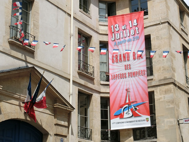 14 July, Paris, firestation dance