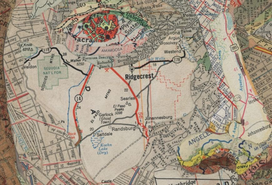 Cartographic Curiosities Art from maps – To and from Maps