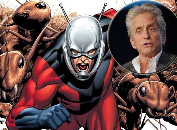 Michael Douglas elegido para interpretar a Hank Pym en Ant-Man
