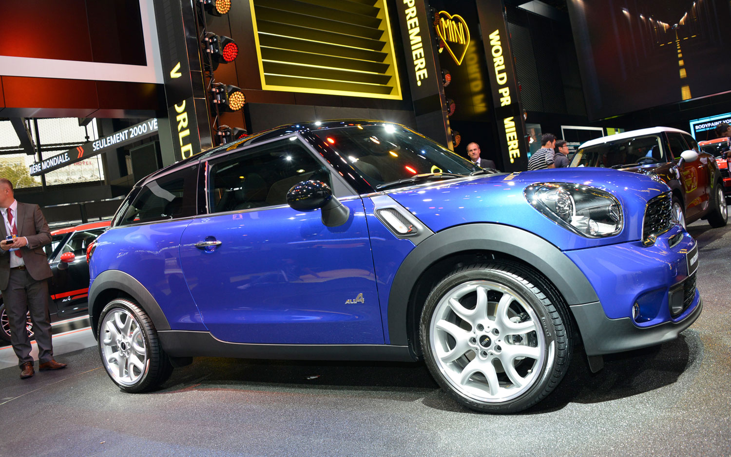 kws cars wallpapers mini cooper paceman first look. Black Bedroom Furniture Sets. Home Design Ideas