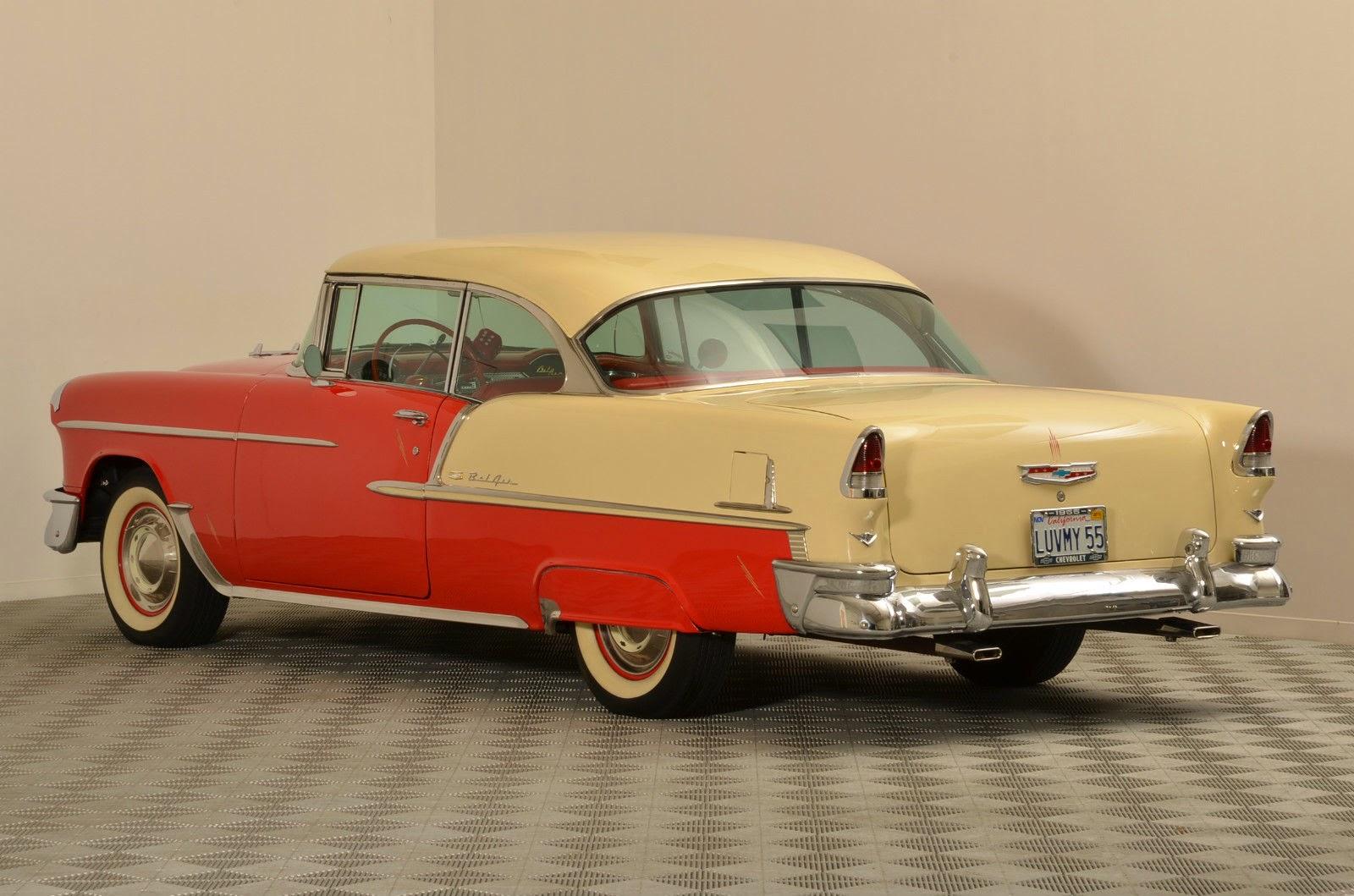 Car M Bel Len all cars 1955 chevrolet bel air 2 door hardtop sport coupe
