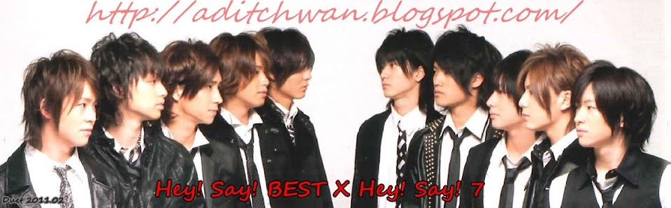 Hey! Say! BEST X Hey! Say! 7