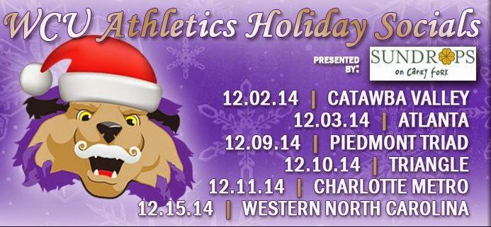 WCU Athletics Holiday Socials