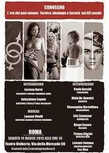 Convegno - 14 marzo ore 10 - Roma - Teatro Umberto - Via della Mercede 50