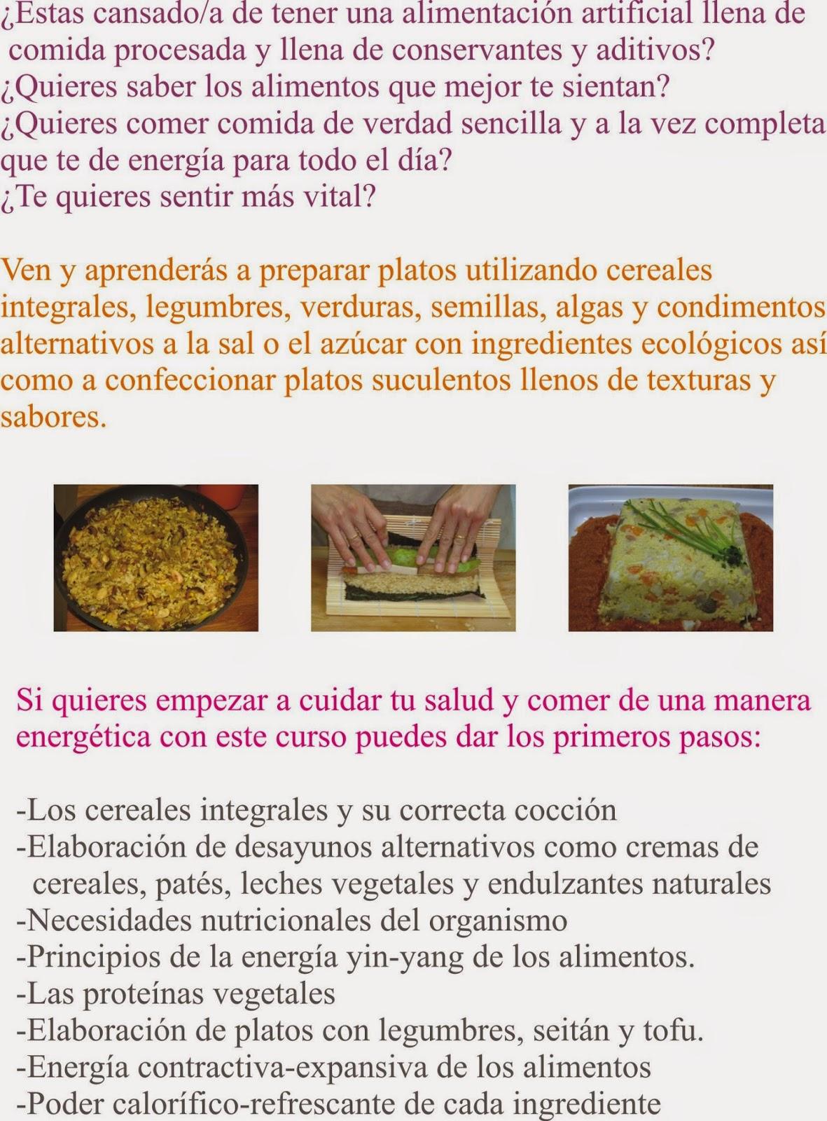 El camino c smico curso de cocina medicina en barcelona - Cursos de cocina barcelona ...
