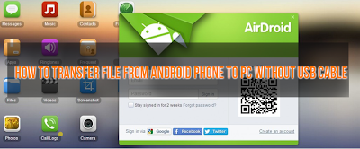 How To Transfer Data From Android Phone To PC Without USB Cable