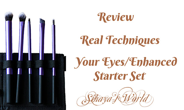 real techniques your eyes enhanced starter set