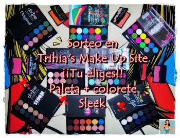 sorteo en trihia`s makeup site