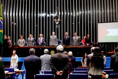 Povo palestino recebe homenagem do Congresso Nacional