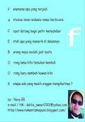 Sebait Kata Tentang Facebook