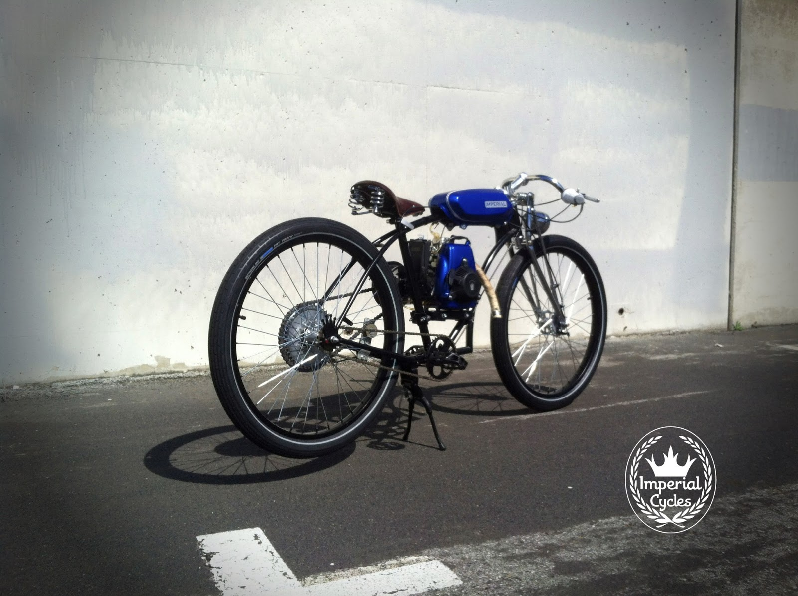 Imperial Cycles: custom built 4 stroke for sale!! SOLD Custom Built Bicycle