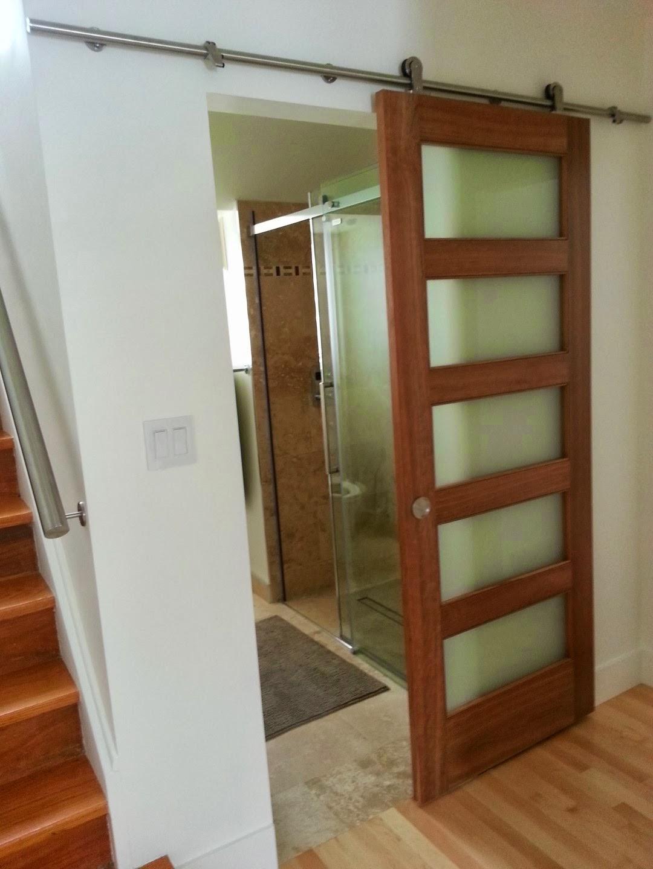 Puertas De Baño San Jose:Cómo instalar puertas de madera corredizas – Puertas de Madera