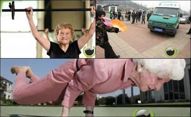 10 Nenek yang paling Terhebat dan Terkuat  di Dunia